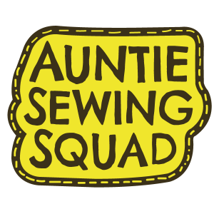 Auntie Sewing Squad Logo